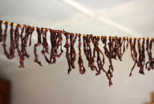 Quant'a; dried strips of beef used in the Quant'a FirFir dish.